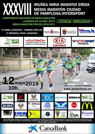 XXXVIII MEDIA MARATON PAMPLONA