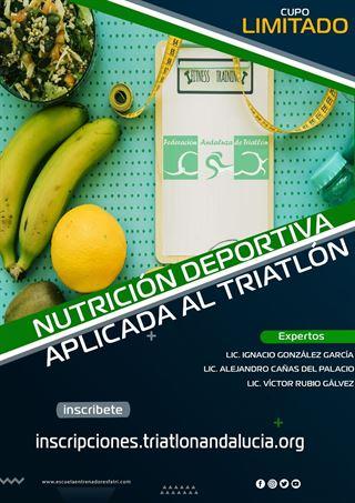 CURSO ONLINE NUTRICIÓN DEPORTIVA APLICADA AL TRIATLÓN
