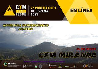 2ª PRUEBA COPA DE ESPAÑA FEDME 2021,  CXM TRAIL EN LÍNEA - CXM MIRANDA DE EBRO