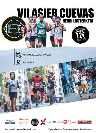 VII. ASIER CUEVAS HERRI LASTERKETA *EIBAR*(7,5 km)-2019