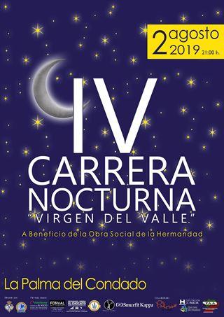 IV CARRERA NOCTURNA VIRGEN DEL VALLE LA PALMA DEL CONDADO