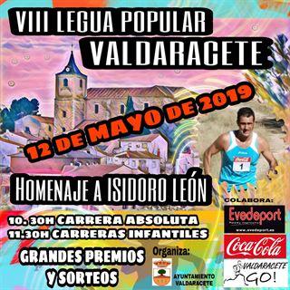 VIII LEGUA POPULAR DE VALDARACETE
