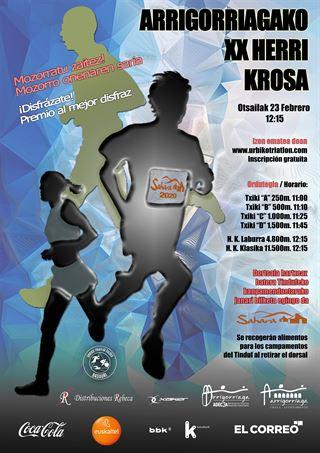 Arrigorriagako XX Herri Krosa - 2020