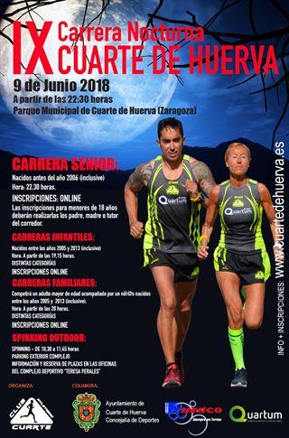 RockTheSport | IX CARRERA NOCTURNA CUARTE DE HUERVA | 2018 | CUARTE ...