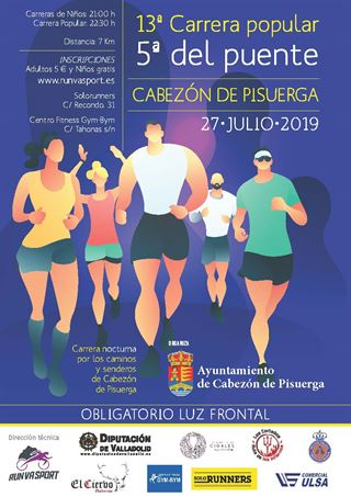13ª Carrera Popular y 5ª Del Puente de Cabezón