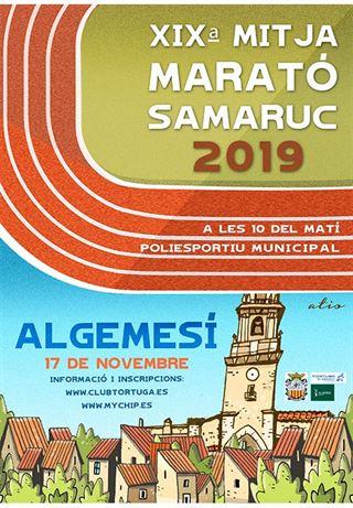 XIX MITJA MARATÓ SAMARUC 2019, ALGEMESÍ
