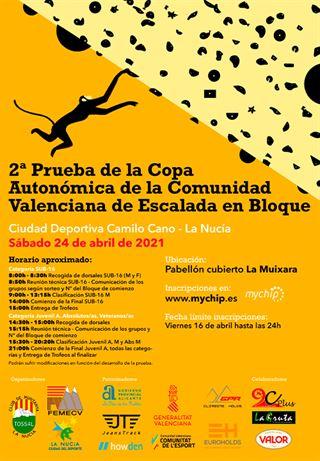 2 Prova Copa Escalada en Bloc, La Nucía, FEMECV 2021