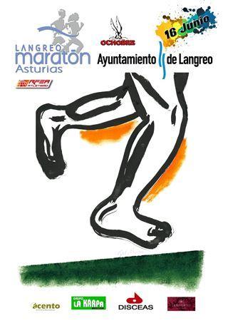 Maratón y Medio Maraton Langreo 2019.