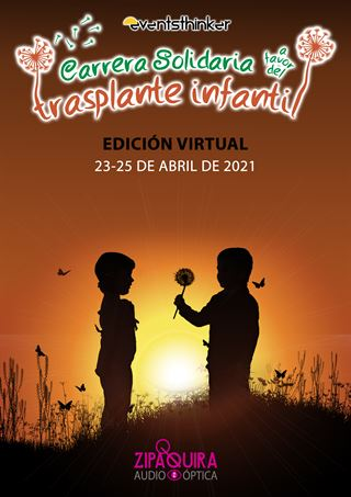 CARRERA A FAVOR DEL TRASPLANTE INFANTIL-VIRTUAL
