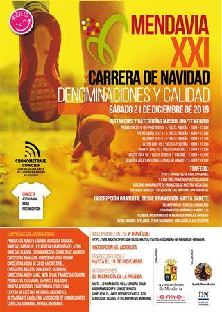 XXI CARRERA DE NAVIDAD DE MENDAVIA