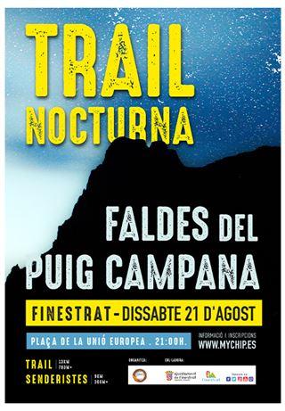 Faldes del Puig Campana, Trail & Sender Nocturn, 2021