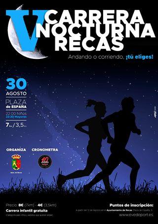 V CARRERA NOCTURNA DE RECAS