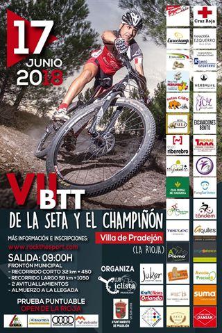 VII BTT DEL CHAMPIÑÓN Y LA SETA VILLA DE PRADEJÓN