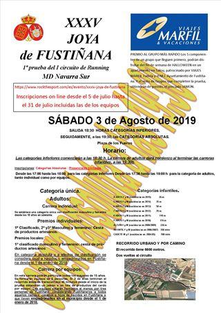 XXXV JOYA DE FUSTIÑANA