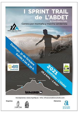 I sprint Trail de L'Abdet, By Costa Blanca Trails