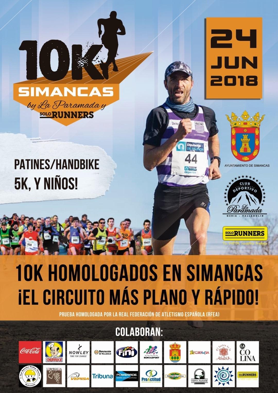 Carrera de 10 Km Y 5 Km Villa de Simancas