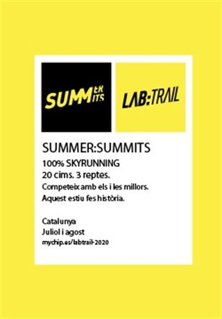 LAB:TRAIL - SUMMER:SUMMITS, CATALUNYA