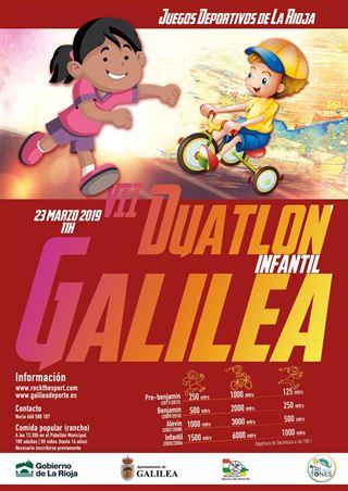 VII Duatlón Infantil de Galilea (JJDD)