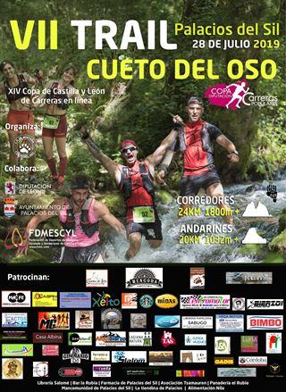 XIV Copa de Castilla y León de Carreras por Montaña en línea 6ª prueba VII Trail Cueto del oso