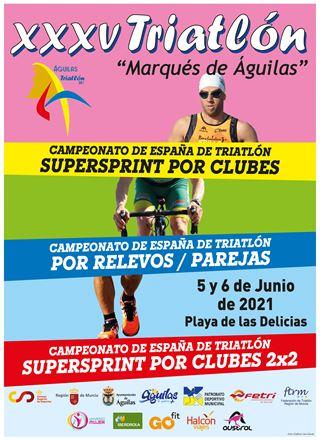 Campeonato de España de Triatlón SuperSprint por Clubes 2x2 - Aguilas