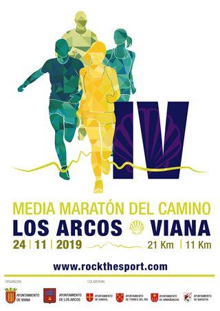 """IV MEDIA MARATON DEL CAMINO """"LOS ARCOS - VIANA"""" suspendida"""
