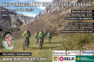 XXIV Travesia BTT Alsasua/Altsasu 2019