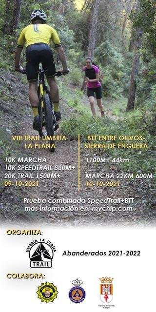 VIII Trail Umbría la Plana, BTT entre Olivos sierra de Enguera.