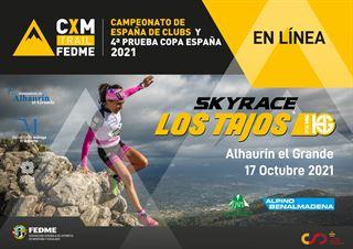 Copa de España Línea y Campeonato de Clubs FEDME 2021, LOS TAJOS SKYRACE