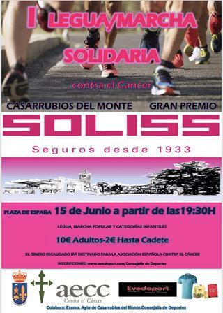 LEGUA Y MARCHA SOLIDARIA CASARRUBIOS DEL MONTE GRAN PREMIO SEGUROS SOLISS