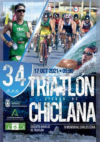 XXXIV TRIATLÓN CIUDAD DE CHICLANA - IV Memorial Carlos Sena