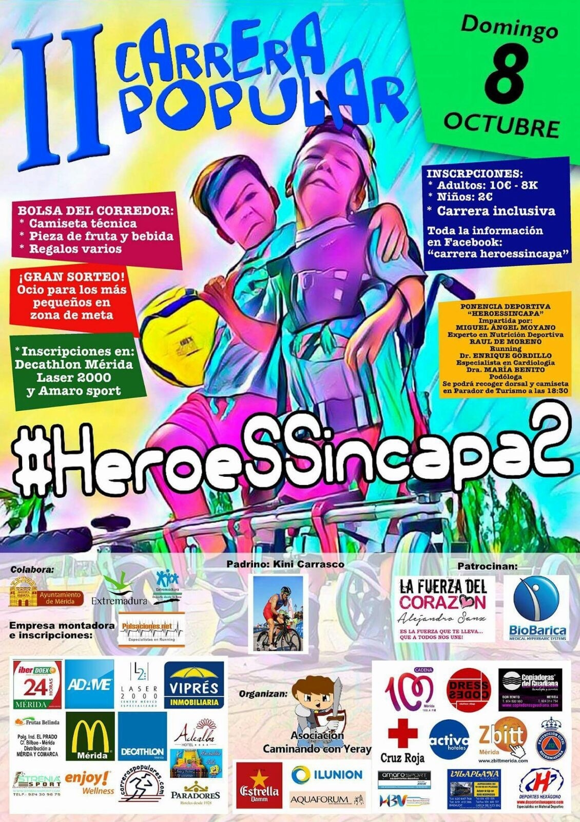 II Carrera Popular #Heroessincapa2
