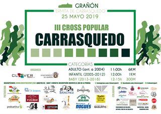 III CROSS POPULAR CARRASQUEDO