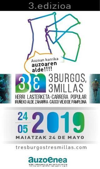Tres burgos tres millas 2019