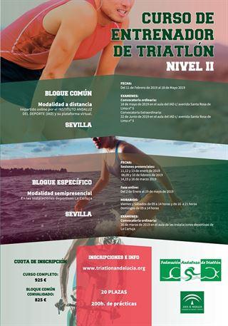CURSO DE ENTRENADOR/A NIVEL II (PAGO FRACCIONADO 4 DE 4 PLAZOS)