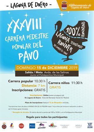 XXXVIII Carrera Pedestre Popular del Pavo