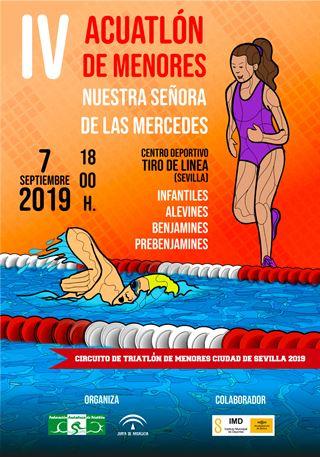 IV ACUATLÓN DE MENORES NTRA. SRA. DE LAS MERCEDES