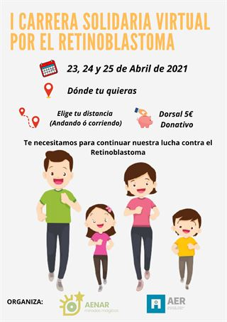 I Carrera Solidaria Virtual por el Retinoblastoma