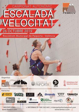CAMPIONAT AUTONÒMIC ESCALADA DE VELOCITAT, PAIPORTA, FEMECV 2019