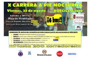 10ª Carrera a Pie Nocturna Boecillo