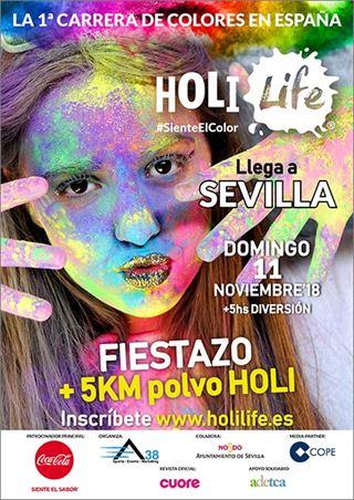 Holi Life Sevilla 1st Edition NUEVA FECHA