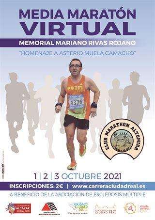 Media Maratón Virtual Memorial Mariano Rivas Rojano