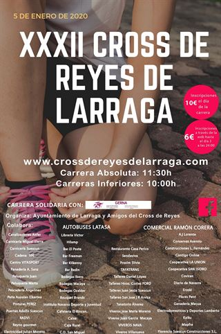 XXXII CROSS DE REYES DE LARRAGA