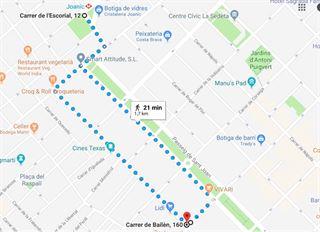 Caminagos Solidari a les Festes de Gràcia