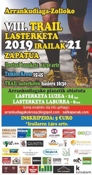 ARRANKUDIAGA - ZOLLOKO VIII. TRAIL LASTERKETA (2019)
