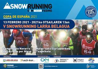 Copa de España Snowrunning FEDME 2021 - SNOWRUNNING LARRA BELAGUA