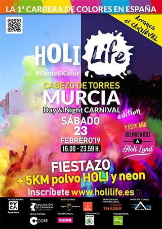 Holi Life Murcia 5th Day&Night HoliLand Edition 23-02-19
