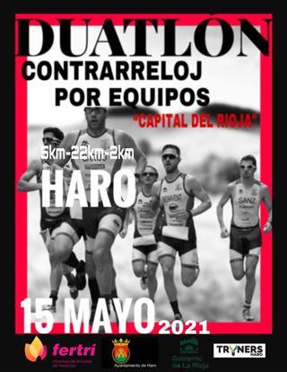 I Duatlón Contrarreloj de Haro por Equipos