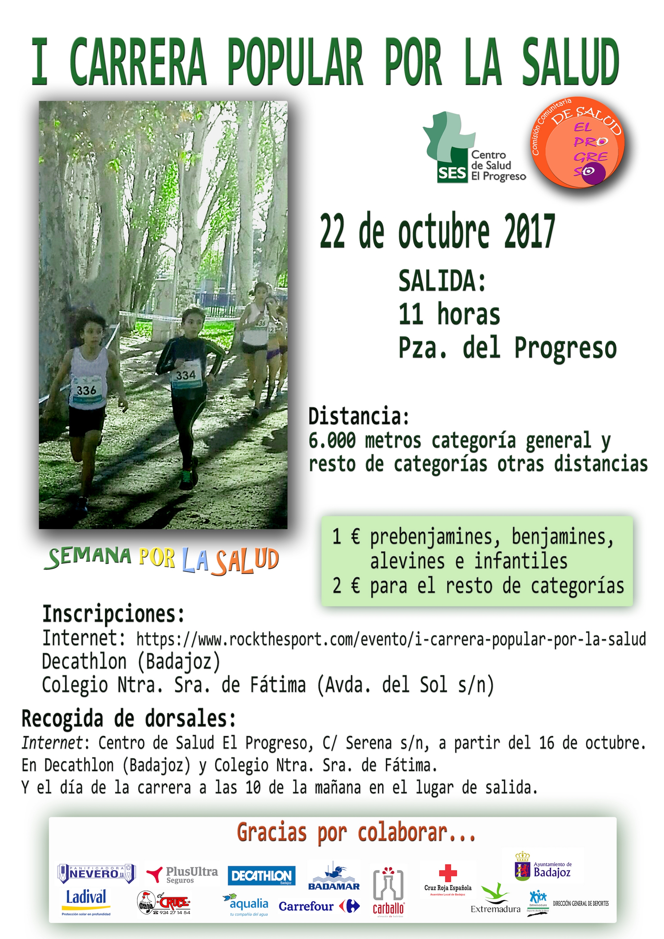 I Carrera Popular por la Salud