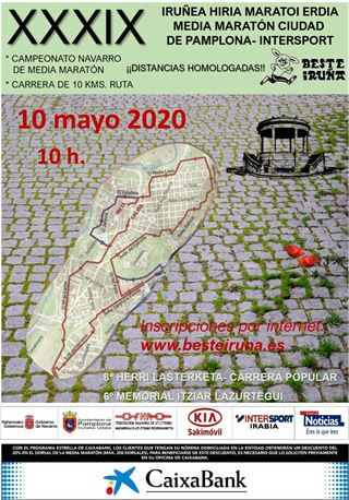 XXXIX MEDIA MARATON PAMPLONA