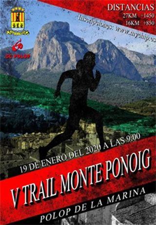 V Trail Monte Ponoig